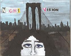 Art: Night Vision SOLD by Artist Nancy Denommee