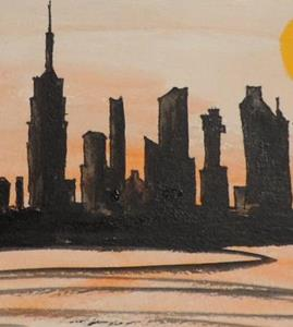 Detail Image for art scrambled skyline