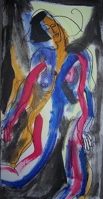 Art: Outside the Lines SOLD by Artist Nancy Denommee