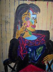 Art: after picasso by Artist Nancy Denommee