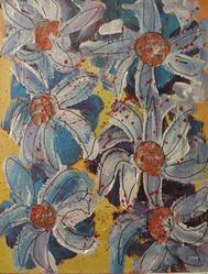 Art: flowers # 78 by Artist Nancy Denommee
