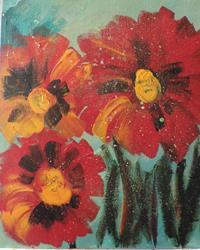 Art: flowers # 79 by Artist Nancy Denommee