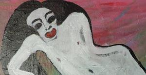 Detail Image for art lady in white