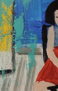 Detail Image for art new red shoes