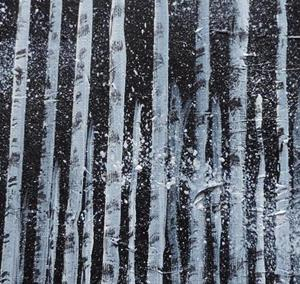 Detail Image for art birches in the snow