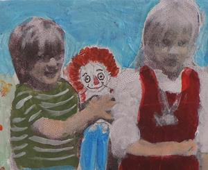 Detail Image for art raggedy ann and andy