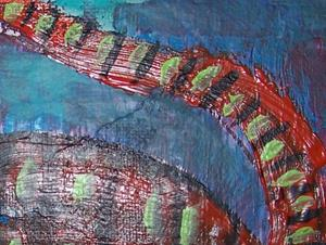 Detail Image for art Striped Cat