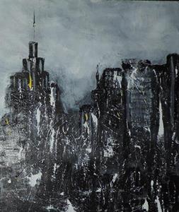 Detail Image for art rainy manhattan day