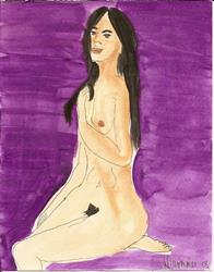 Art: Nude # 30 by Artist Nancy Denommee