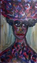 Art: Hattie by Artist Nancy Denommee