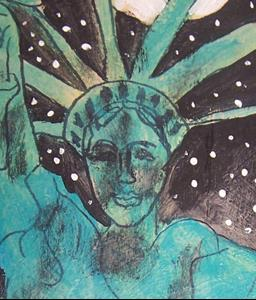Detail Image for art Moon Shines on Liberty