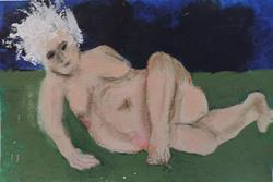 Art: beauty SOLD by Artist Nancy Denommee