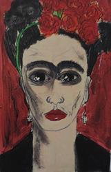 Art: frida by Artist Nancy Denommee