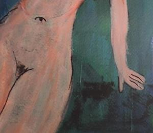 Detail Image for art nude after modigliani