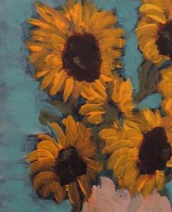 Detail Image for art sunflowers after van gogh