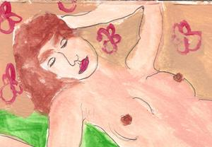 Detail Image for art sleeping nude 1