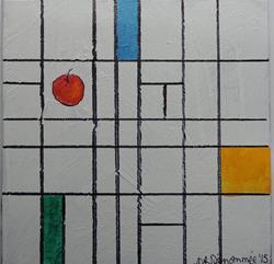 Art: apples #12  by Artist Nancy Denommee