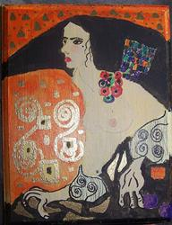 Art: Judith, Judith, Judith SOLD by Artist Nancy Denommee