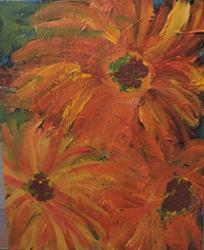 Art: flowers # 80 by Artist Nancy Denommee