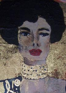 Detail Image for art Golden Judith after Klimt SOLD