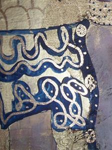 Detail Image for art Golden Judith after Klimt SOLD