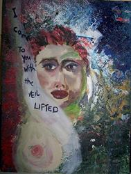 Art: I Come to You With the Veil Lifted by Artist Nancy Denommee