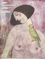 Art: It was Lilith SOLD by Artist Nancy Denommee
