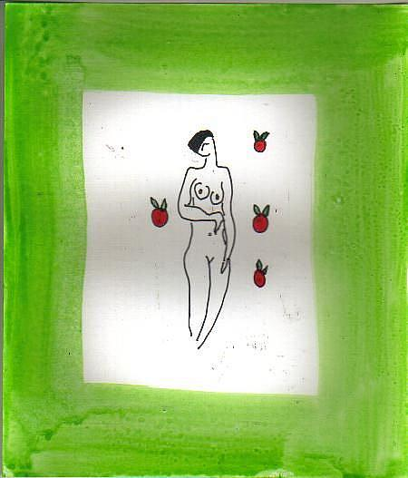 Art: APPLES Homage to Matisse by Artist Nancy Denommee
