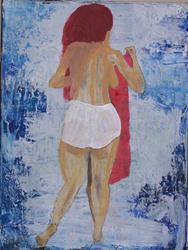 Art: Big Panties original  by Artist Nancy Denommee