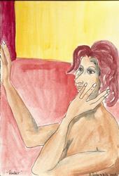 Art: Ponder  by Artist Nancy Denommee