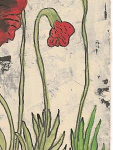 Detail Image for art Poppies in the Country SOLD