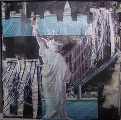 Art: Statue of Liberty Looks Back SOLD by Artist Nancy Denommee