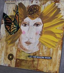 Art: Let The Healing Begin by Artist Nancy Denommee
