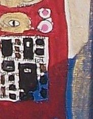 Detail Image for art The Embrace original painting ala KLIMT