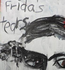 Detail Image for art frida's tears