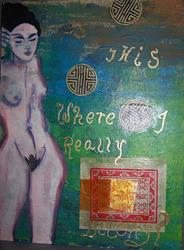 Art: Is This Where I Really Belong by Artist Nancy Denommee