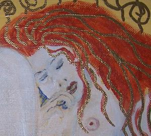 Detail Image for art Sleeping after Klimt