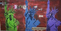 Art: Start Spreading the News #2.jpg by Artist Nancy Denommee