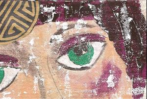 Detail Image for art This Veil of Tears SOLD