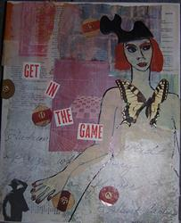 Art: Get In The Game SOLD by Artist Nancy Denommee