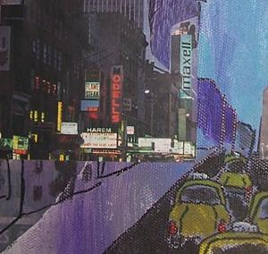 Detail Image for art Through the Canyons of New York SOLD