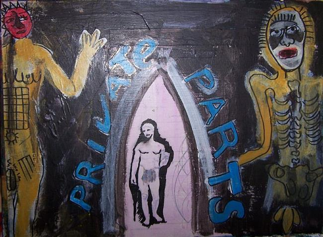 Art: Privte Parts by Artist Nancy Denommee