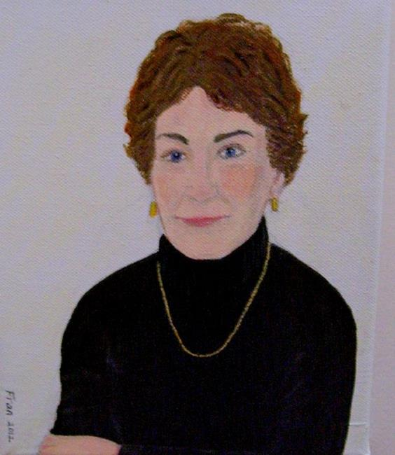 Art: Judy (Not for Sale) by Artist Fran Caldwell