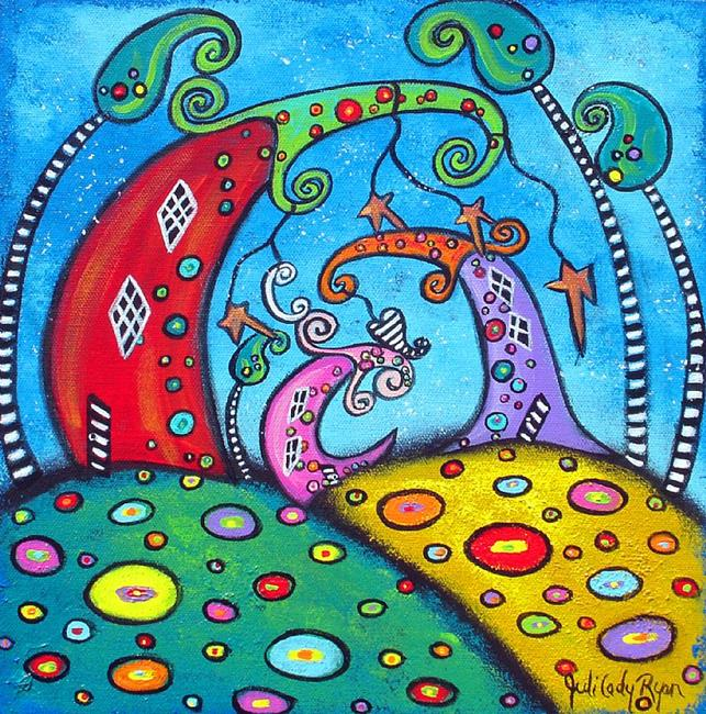 Art: Love Thy Neighbor by Artist Juli Cady Ryan