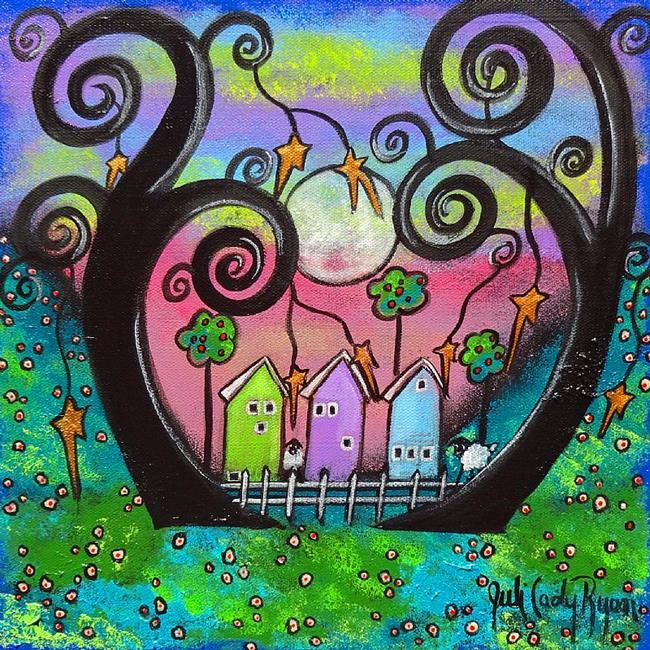Art: Love Thy Neighbor II by Artist Juli Cady Ryan