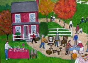 Detail Image for art Fall Yard Sale (Sold)
