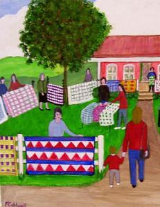 Detail Image for art Quilt Sale (Sold)