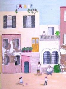 Detail Image for art The Village (Not for Sale)