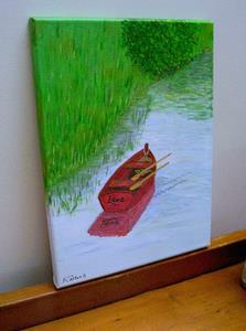 Detail Image for art Love Adrift (Sold)