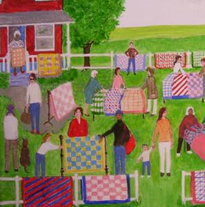 Detail Image for art The Quilt Sale III (Commission)
